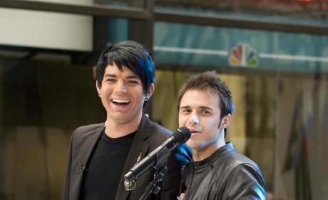 Kris and Adam's Bromance