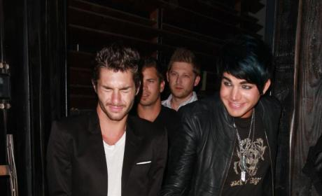 Drake LaBry and Adam Lambert