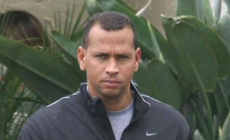 Alex Rodriguez Denies Taking Steroids