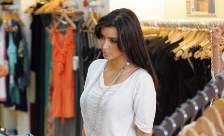 Kim Kardashian Shopping