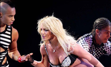 Britney Spears Ready to Go Down ... Under