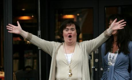Susan Boyle: No Longer Exhausted!