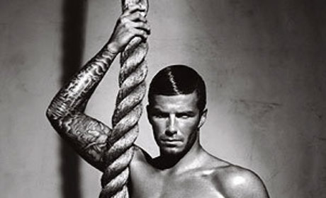 David Beckham: Shirtless Underwear Model