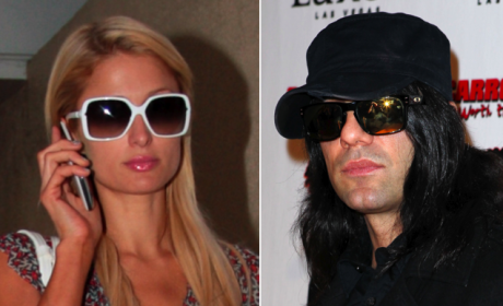 Criss Angel and Paris Hilton