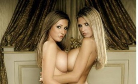 Katie Price and Lucy Pinder