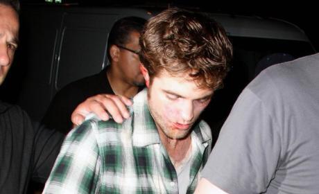 Robert Pattinson: Bloodied, Beautiful on Set of Remember Me