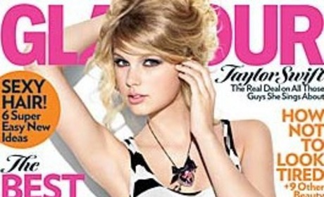 Taylor Swift is a Glamour Girl