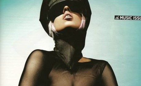 Lady Gaga Sort of Topless