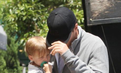 Tom Brady and Son