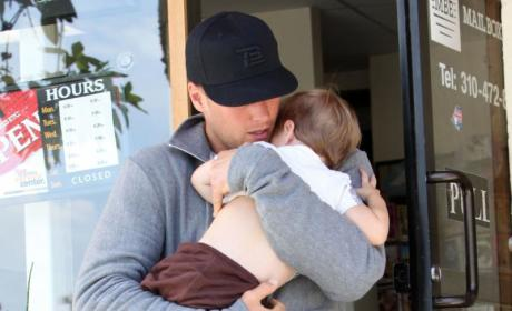 Cute Celebrity Baby (Daddy) Alert: Tom Brady and Son!
