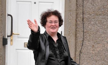 Susan Boyle: Short, Plump and Happy