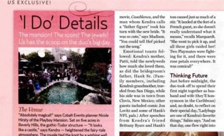 Kendra Wedding Details