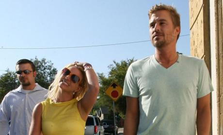Jason Trawick and Britney Spears Picture