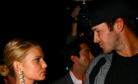 Jessica Simpson and Tony Romo: Broken Up By John Mayer?
