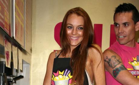 Lindsay Lohan Does Cocaine, Calum Best