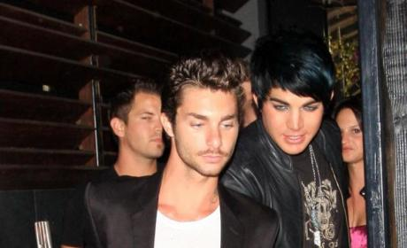 "Adam Lambert: It's Going ""Really Well"" with Drake LaBry"