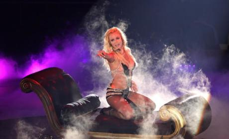 Britney Spears Brings Circus Back to MSG