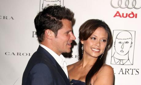 Make Out Alert: Nick Lachey and Vanessa Minnillo!