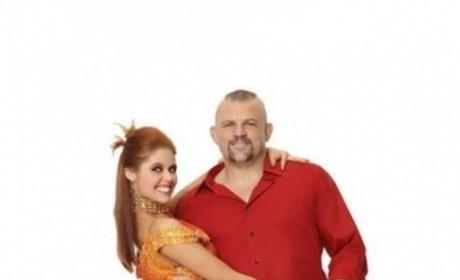 Anna Trebunskaya and Chuck Liddell