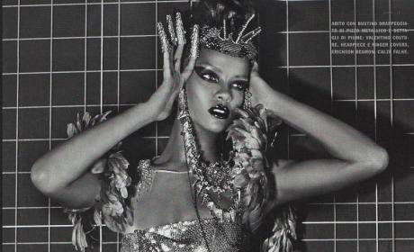 Black and White Rihanna
