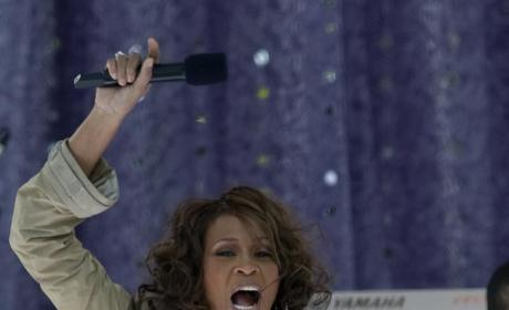 Whitney Houston, Bobby Brown Pretend to be Happy Family at Daughter's Birthday