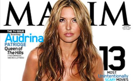 Audrina Patridge Maxim Cover