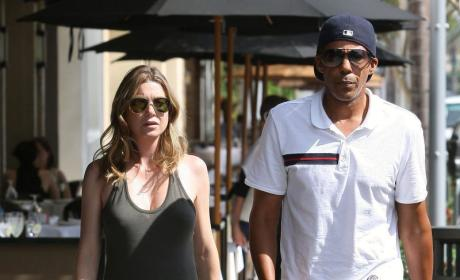 Chris Ivery Helps Feed a Shrinking Ellen Pompeo