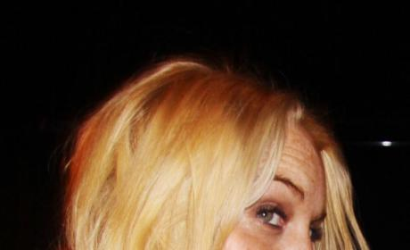 Lindsay Lohan, Ashlee Simpson Up Close & Personal