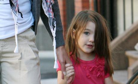 Cuteness Alert: Kate and Suri Cruise