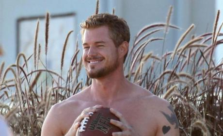 Shirtless Eric Dane