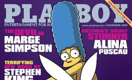 Marge Simpson Playboy Pictures: Funny or Freaky?