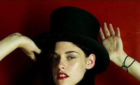 Kristen Stewart Pictures: A GQ-tie