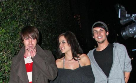 Nick Prugo Chills with Drake Bell, Tess Taylor