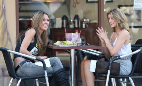 Audrina Patridge and Lo Bosworth