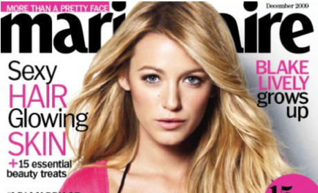 Blake Lively: Marie Claire Cover