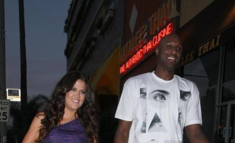 God Help Us: Lamar Odom Campaigns for Kids with Khloe Kardashian