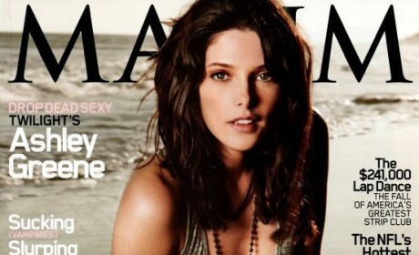 Ashley Greene Covers Maxim, Wants to Be Bond Girl