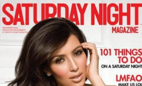 Saturday Night Cover Girl