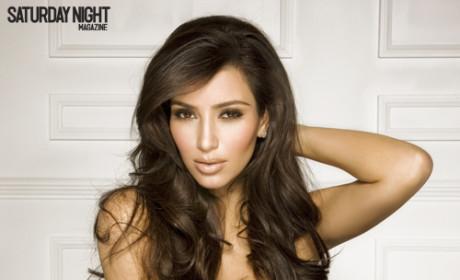 Kim Kardashian: Klassy in Saturday Night Magazine