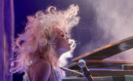 Gaga at the AMAs