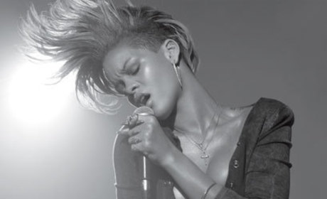 Black & White Rihanna