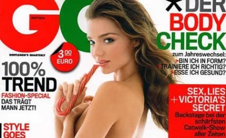 Miranda Kerr Topless GQ Cover