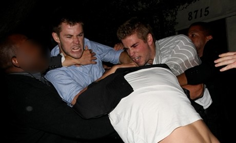 Liam Hemsworth Fight: Caught on Camera!