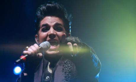 Adam Lambert Rings, Rocks in the New Year