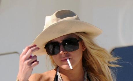 "Lindsay Lohan Promises ""Mayhem"" in '10"