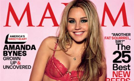 Amanda Bynes in Maxim