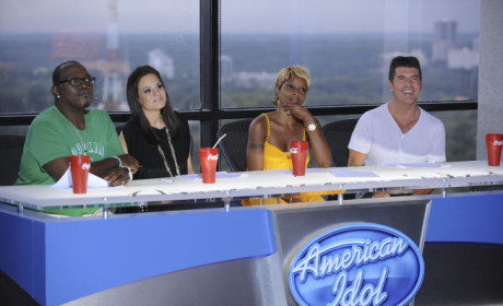 Mary J. Blige on Idol