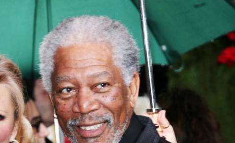 Morgan Freeman Affair with E'Dena Hines - His Step-Granddaugher - Alleged By Tabloid