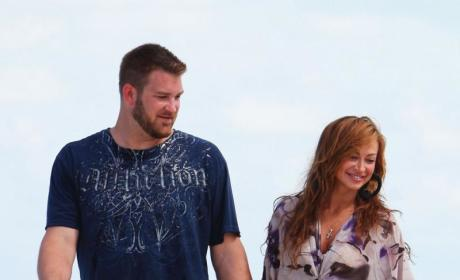 Random Couple Alert: Karina Smirnoff & Brad Penny!