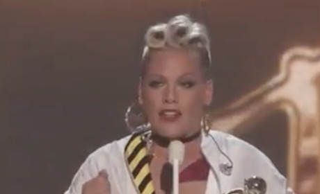 Pink Shows Britney How a Lady Acts